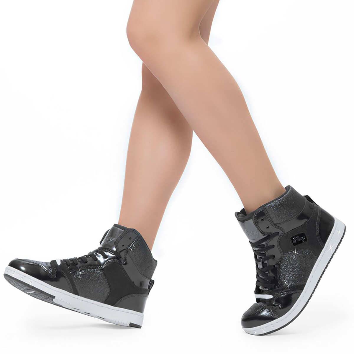 **High Top Sneaker (Black)**