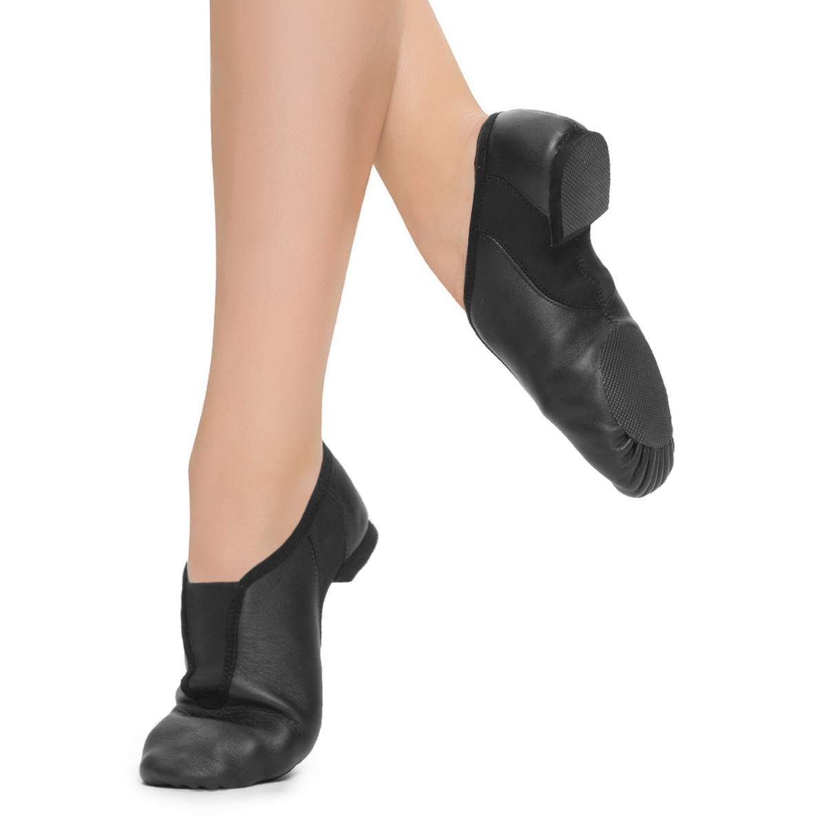 **Stretch Slip-On Jazz Shoe**