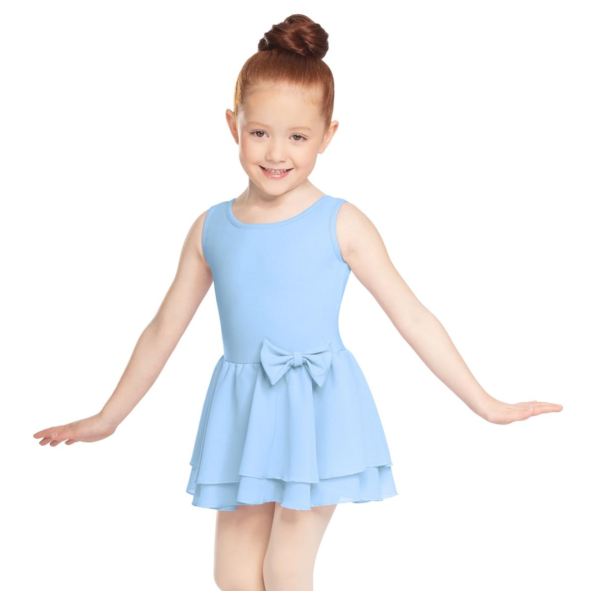 **Tank Bow Dress (Baby Blue)**
